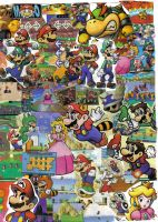 Mario Collage by supersonicdragon