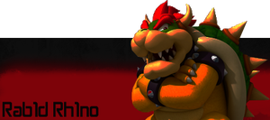 Bowser_sig by Rab1dRh1no