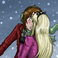 Snowy Kiss by Neheon