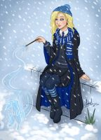 Luna Lovegood by Lukael-Art