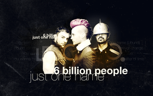 6 billion people by Pusteblumex3