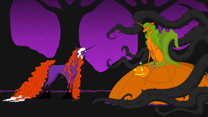 Tainted Purity - Who's The Halloween Unicorn Here? by BambisParanoia