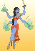 Indian Goddess by magdalena-3000