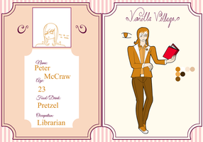 Vanilla Village Application - Peter McCraw by AdorableEvil29