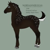 Nordanner foal 1240 for MissStylish by Ikiuni