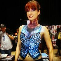 Body Painting By SamanthaWpg.com Comic Con by VisualEyeCandy