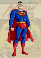 Golden Age Superman by trisaber