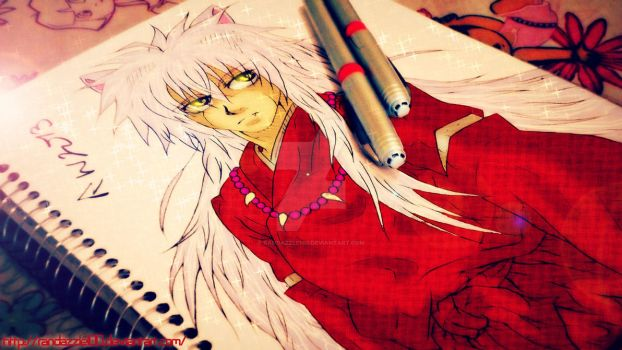 The Half Demon-Inuyasha by Randazzle100