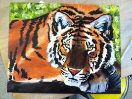 Tiger Painting by starwolf303