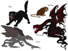 Eldritch Creatures 101 part 3 by demongirl99