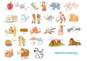 Alphabets and Phonics by chimpansy