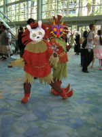 Majora and Deku kid by Anime-Expo