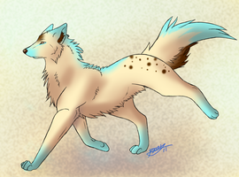Wolf Adoptable by Kay-ro