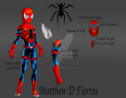 1 *Costume Redesign Spider-Man* by Ironmatt1995