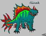 The Shinak by Bluedoge