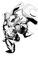 NYCC Thor inks by RobertAtkins