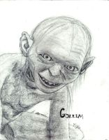 Gollum by AinuLaire