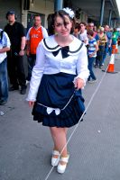 Girl in a sailor inspired outfit by ZeroKing2010