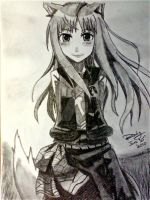 Spice and Wolf by reddybloodyapple