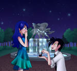 Contest entry - Under a Night Sky by Eifi--Copper