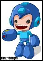 Megaman by hanzthebox