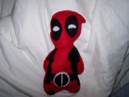 Deadpool Plushie by kamikaze-kawaii