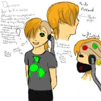 Devon reference sheet. by causeIcanBtch