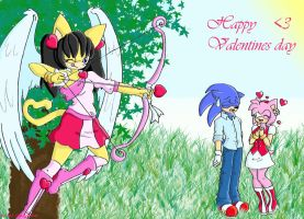 .:Sonic Valentines Day:. by MJ-the-panther