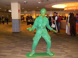 Toy Soldier Cosplay by EndOfGreatness
