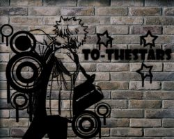 Naruto Uzumaki Shippuden Graffiti Wallpaper by To-TheStars