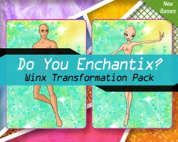 Do You Enchantix? - Winx Transformation Pack by TheDamnedFairy