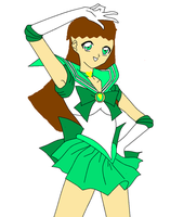 Stef as Sailor Green by HandsomeHenry123