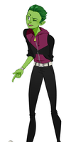 Beast Boy by xXischaXx