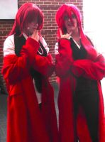 Double the grell! by colorweelofdoom