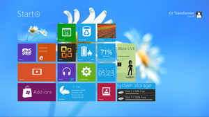 Windows 8 theme for Windows 7 by djtransformer01