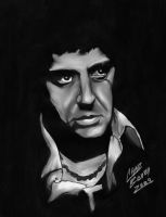SCARFACE Tony Montana by CHADBOVEY
