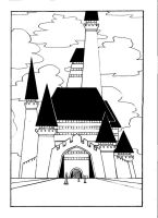Castle of Palane School by kendrawer