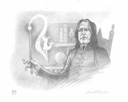Headmaster Snape by LauraQuiles