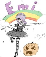 Emi: Lolita Halloween by EmiAnimeOriginal