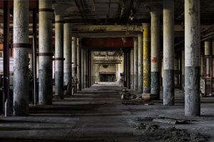 Abandoned Paper Mill by rvanzandt