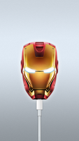 Ironman DJ/AM Style Wallpaper for iPhone 5 by KeyzerSoze