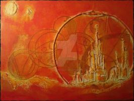 Gallifreyan VI - Citadel of time by CheekyChemist