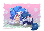 Are you a cat person or dog person? by lemonpandachan