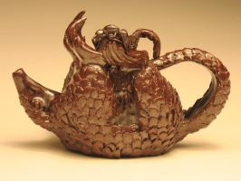 The Pangolin Teapot by eggyyockio