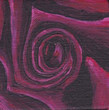 Maroon Rose by Bex013
