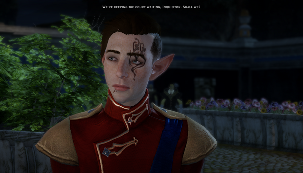 Inquisitor Lavellan by FancyPancake55