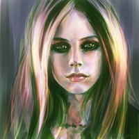 Avril Lavigne by Haychel