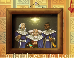 Avatar Advent Calendar: Day 22: Three Wise Lotus by Mattierial