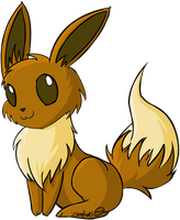 Eevee by Zeakari