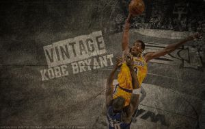 Vintage Kobe Bryant Wallpaper by IshaanMishra